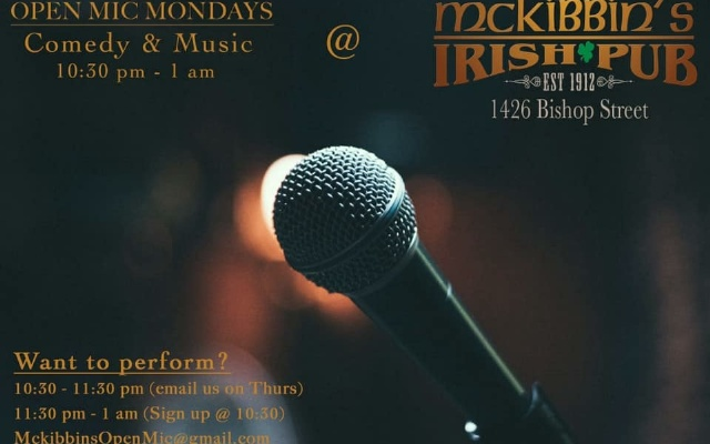 McKibbins Irish Pub: Montreal's original Pub & Bar  | OPEN MIC NIGHT ╥ Mondays / Bishop  | McKibbins Irish Pub is the Montreal Irish Pub & Bar. The best bar & pub food in the Montreal area with an irish twist, live bands & over 24 beers on tap.