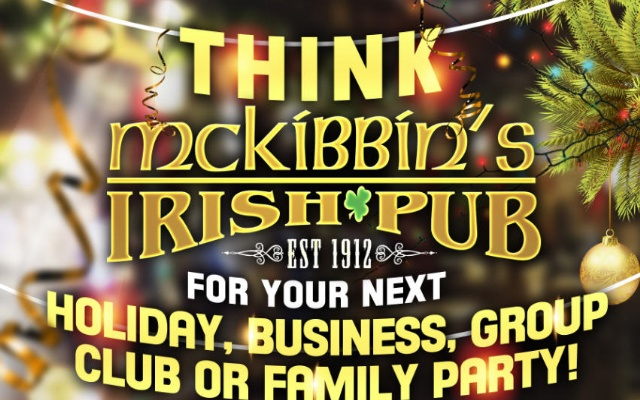 McKibbins Irish Pub: Montreal's original Pub & Bar  | Think Mckibbin's for your Holiday Party Booking! | McKibbins Irish Pub is the Montreal Irish Pub & Bar. The best bar & pub food in the Montreal area with an irish twist, live bands & over 24 beers on tap.