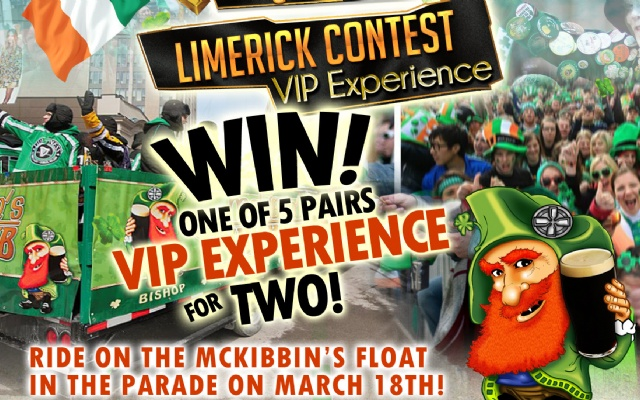 McKibbins Irish Pub: Montreal's original Pub & Bar  | WIN a VIP EXPERIENCE for TWO!  | McKibbins Irish Pub is the Montreal Irish Pub & Bar. The best bar & pub food in the Montreal area with an irish twist, live bands & over 24 beers on tap.