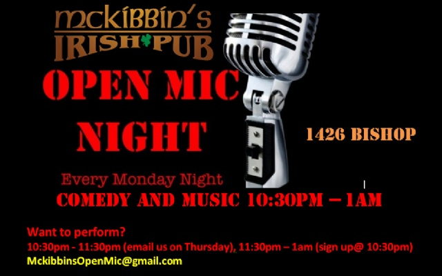 McKibbins Irish Pub: Montreal's original Pub & Bar  | Soiree Open Mic  | McKibbins Irish Pub is the Montreal Irish Pub & Bar. The best bar & pub food in the Montreal area with an irish twist, live bands & over 24 beers on tap.